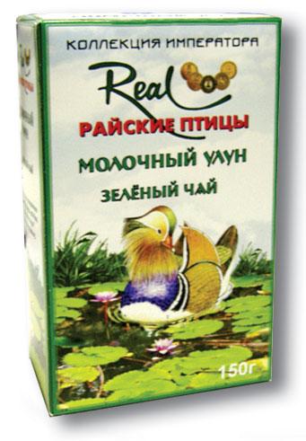Чай райские птицы молочный улун зеленый чай ж/б (150г